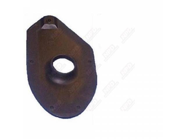 Gas Filler Neck Seal Trunk Floor Steel Reinforced