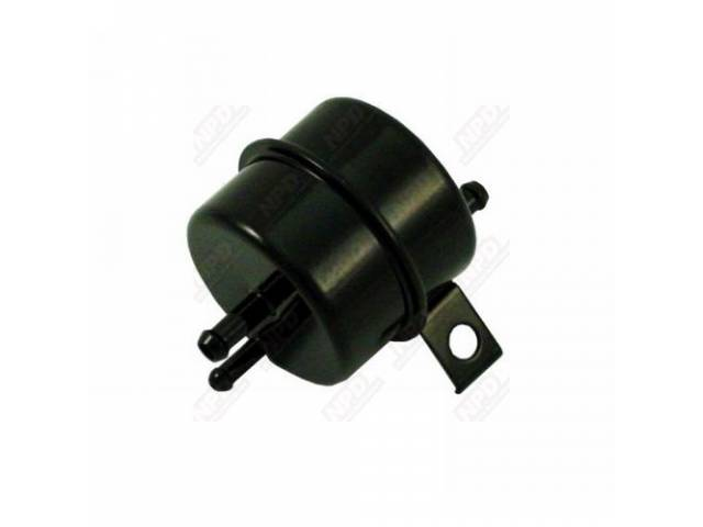 Separator Fuel Filter / Vapor Oe Style Black