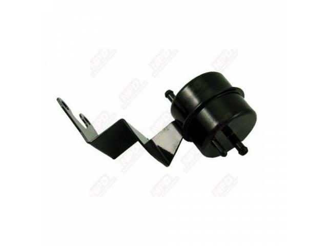 Separator, Fuel Filter / Vapor, Oe Style, Black