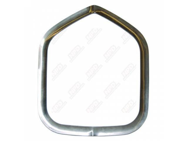 Trim Ring Shaker Hood Incl Gaskets And Mounting
