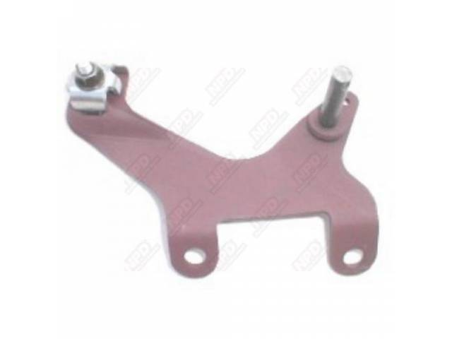 Bracket, Throttle Cable Mounting, Incl Bracket, Zinc Plated