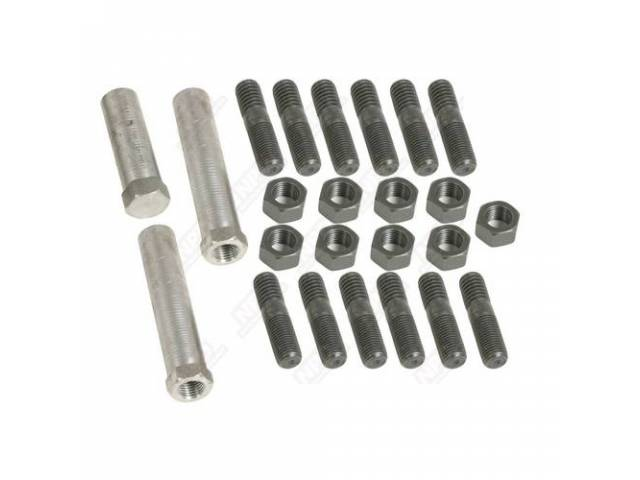 Fastener Kit Exhaust Manifold Incl Correct Bolts Studs
