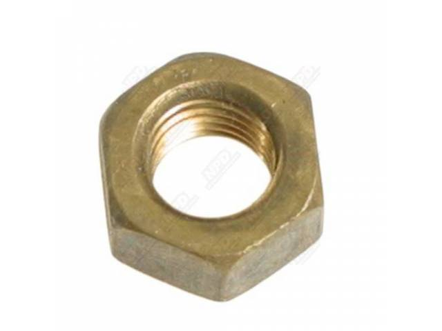 Brass Nut, 5/16 Inch, Exhaust Manifold Nut