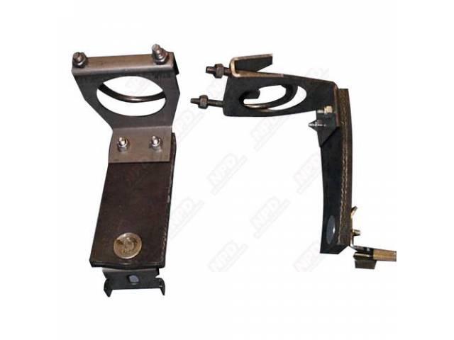 Resonator Hangers Clamp And Rubber Insulator As Original