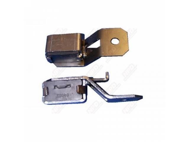 Exhaust Tip Hangers, Correct Rubber Bushing Insulator, Pair
