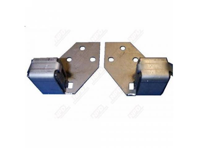 Exhaust Tip Hangers, Brackets, Sold In Pairs, Correct