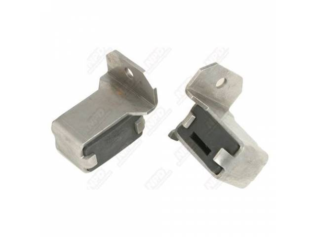 Exhaust Tip Hangers Brackets Sold In Pairs Correct