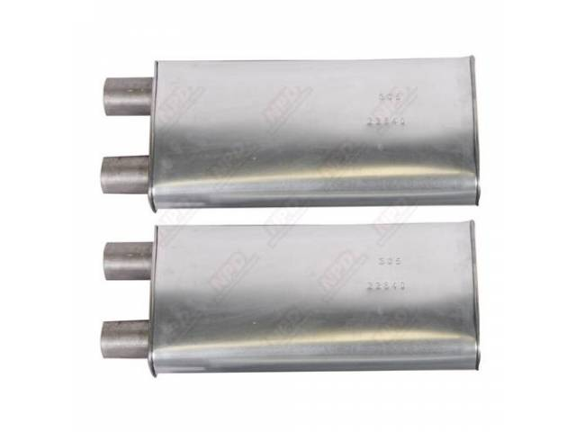 Muffler, Not Date Coded, Good Replacement Part But