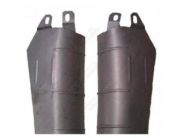 Shields Muffler Heat Lh Oe Stlye Made From