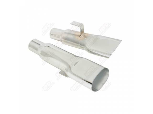 Exhaust Tips, 2 1/4 Inch, Concourse Quality