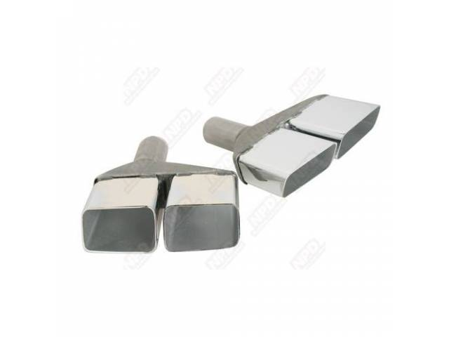 Exhaust Tips 2 Inch Concourse Quality