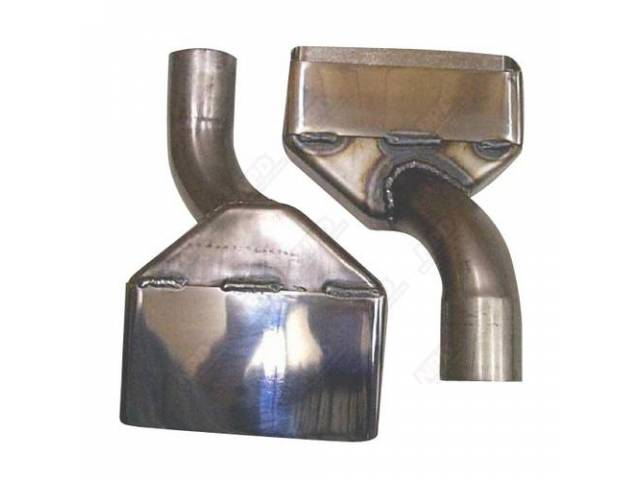 Exhaust Tips 2 1/4 Inch Replacement Chrome