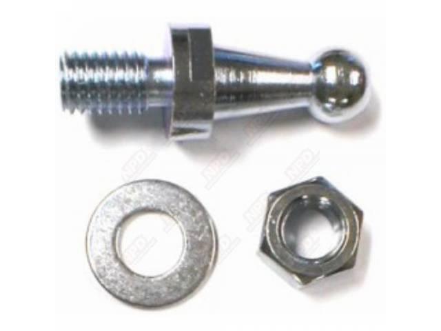 Stud Clutch Bell Crank Ball Frame Side Zinc