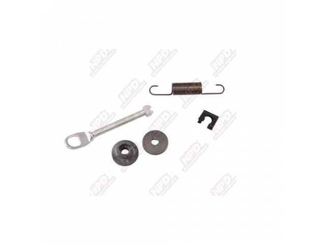 Service Kit, Clutch Release Rod, Angled Adjusting Rod,