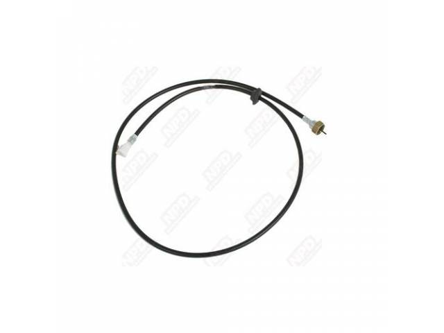 Speedometer Cable And Housing, Comes With Firewall Grommet