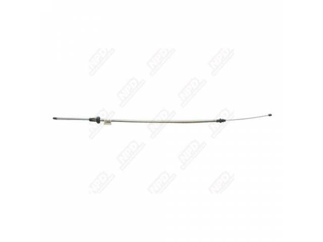 Cable, Paring Brake, Rear, Rh