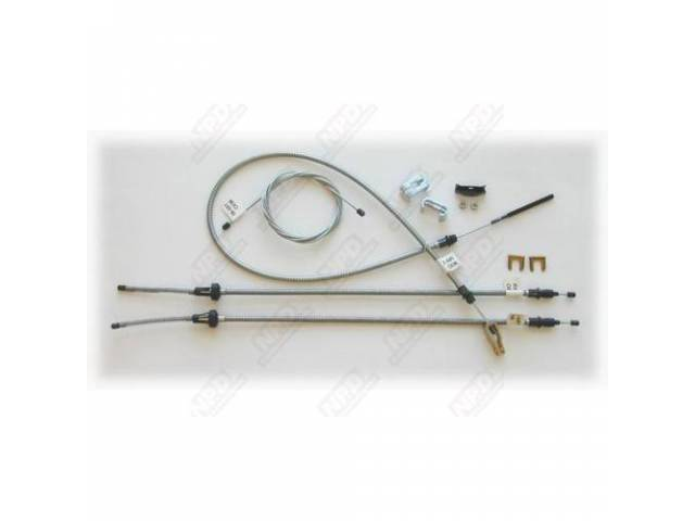 Cable Set Parking Brake Complete Set