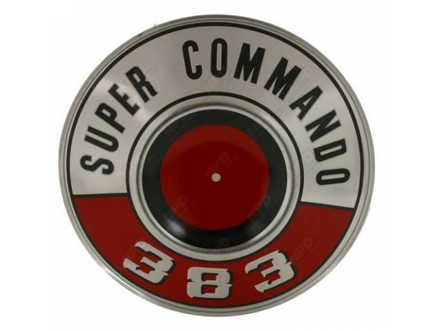 Pie Plate Super Commando 383 Red