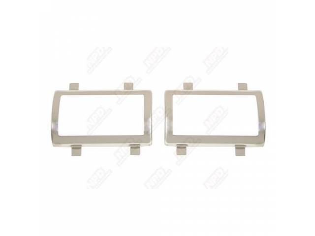 Trim Brake Or Clutch Pedal Pad Stainless Steel