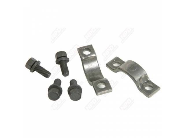 Universal Joint Strap And Bolt Kit Small U-Joint
