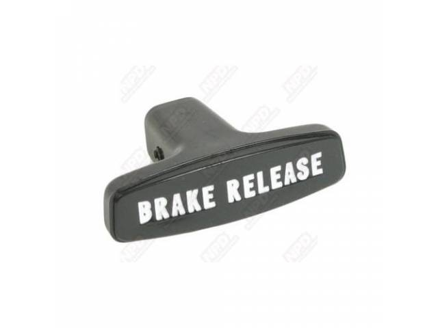 Parking Brake Release Handle With New Roll Pin