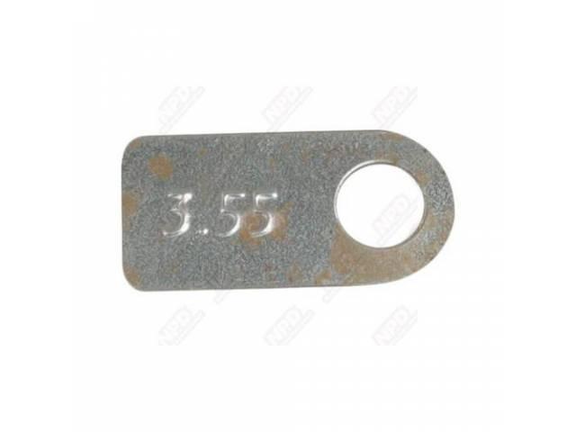 Tag Rear End Silver W/ 3 55 Rear