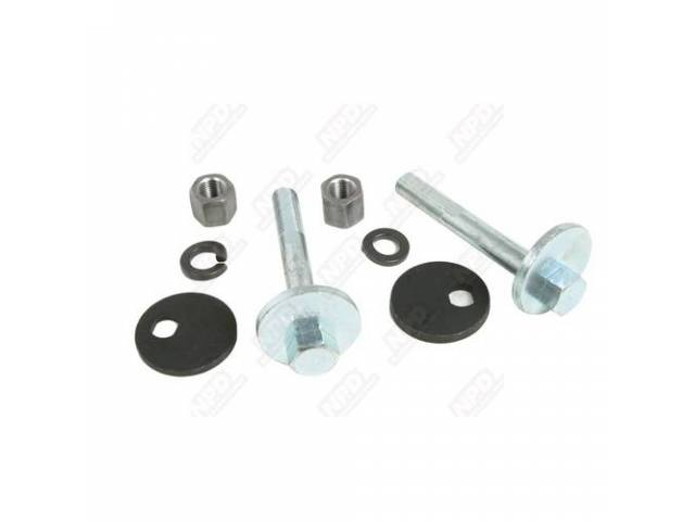 Upper Controll Arm Alignment Kit, Cam Bolts, Does