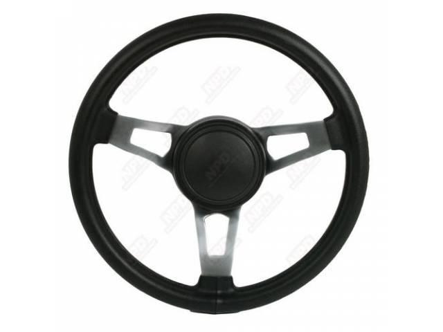 Wheel Steering Tuff Wheel Black W/ Original Style
