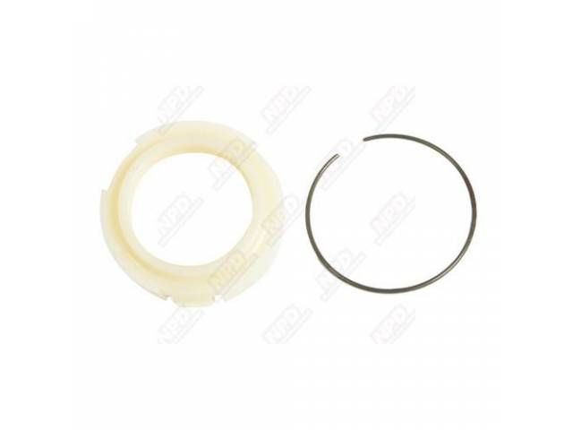 Retainer Lower Steering Column Seal Aged Yellow Split