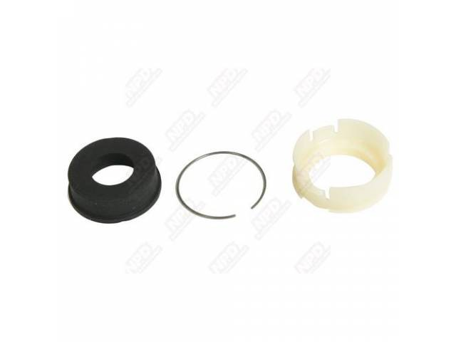 Retainer, Lower Steering Column Seal, Aged Yellow, Split
