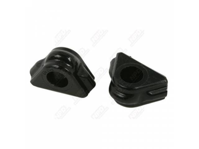 Sway Bar Bushings Front Triangular Shaped To Fit