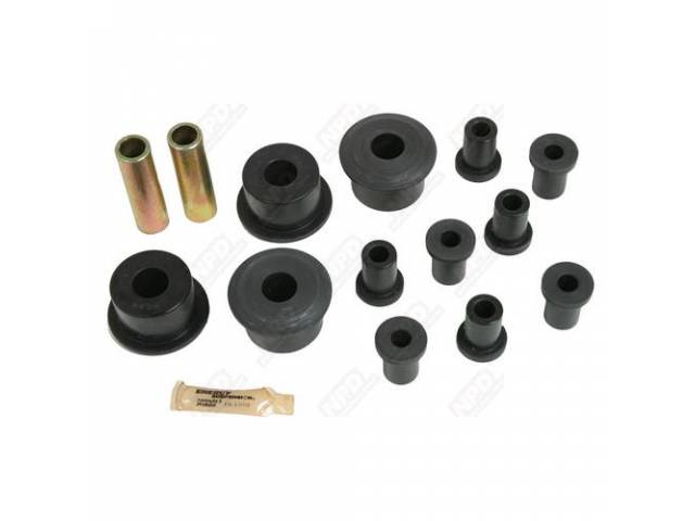 Rear Leaf Spring Bushing Kit W / 2inch