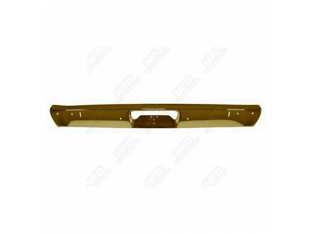 Bumper Rear Repro W/ Jack Slots Oe Quality