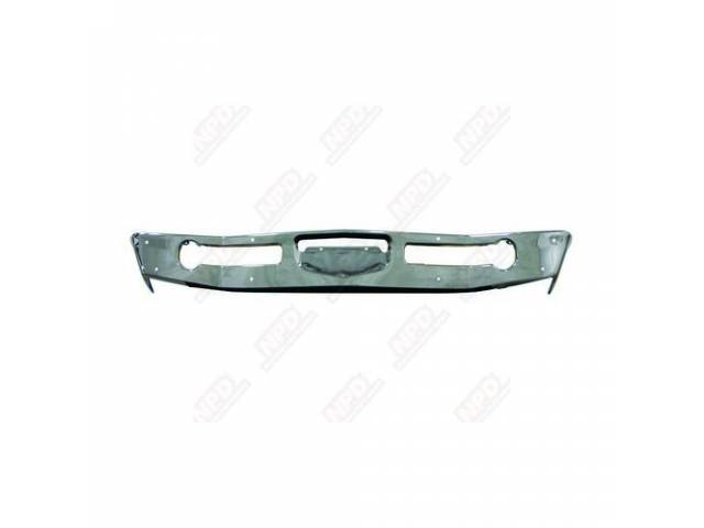 BUMPER FRONT CHROME REPROThese bumpers are designed to