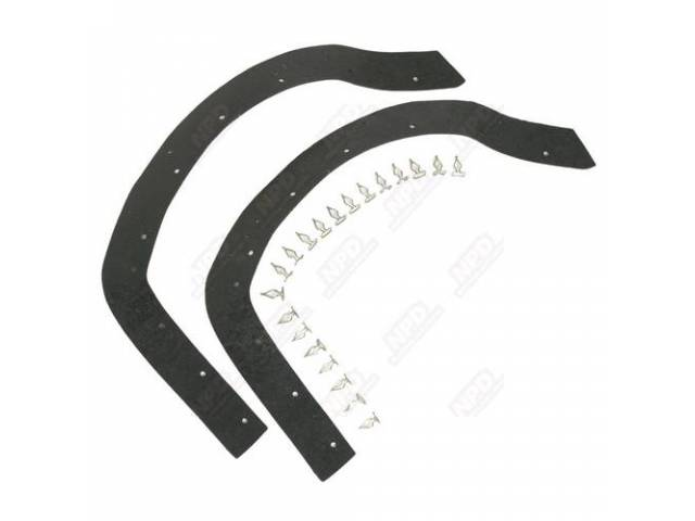 Headlight Seal Kit 2 Pc Kit Rubber Seals