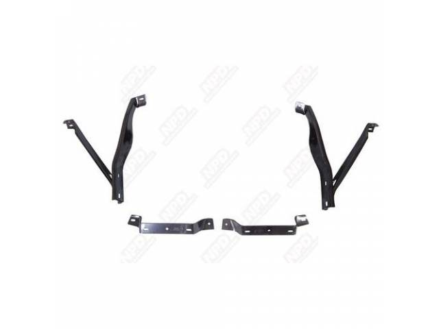 Bracket Set Front Bumper Incl 2 Main Front