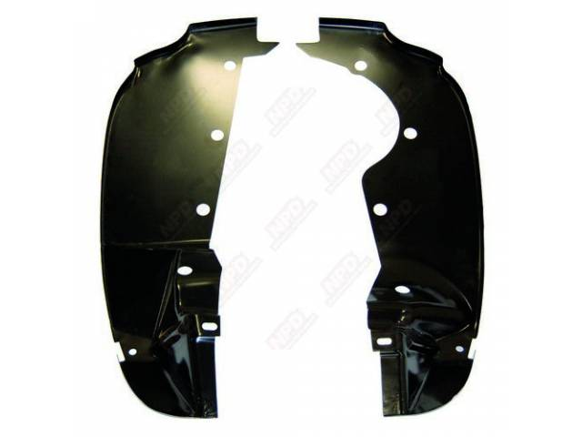 Splash Shield Fender Rear Pair Repro These Are