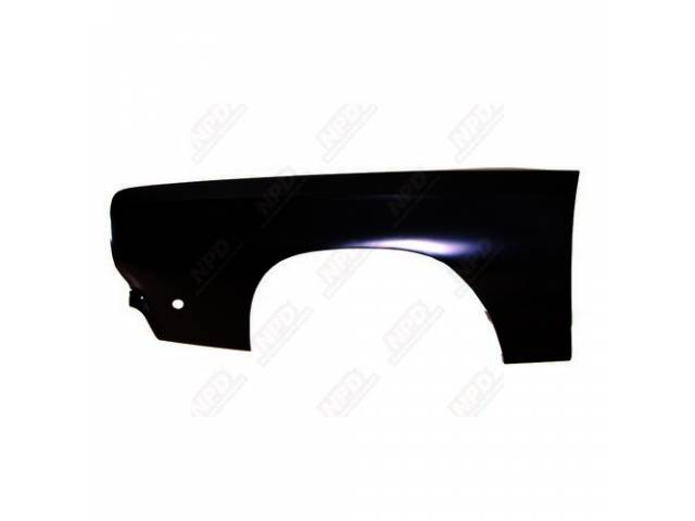 Fender Panel Lh Incl Correct Side Marker Opening