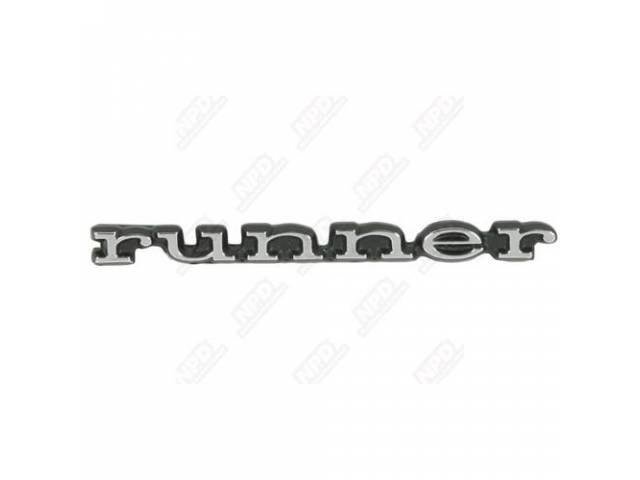 Emblem Runner Fender Concourse Quality