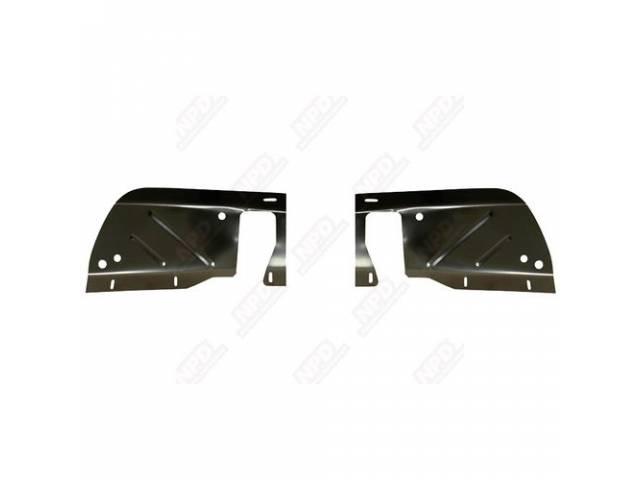Splash Shields, Front Inner Fender, Pair, Edp Coated,