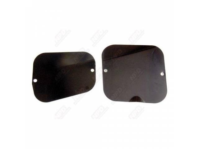 Cover Plate, Front Inner Fender, Pair, Repro