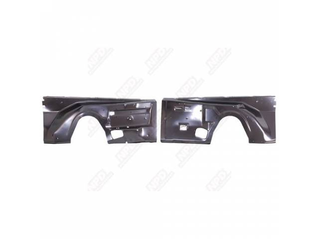 Inner Fender Front Oe Style Pair Repro These