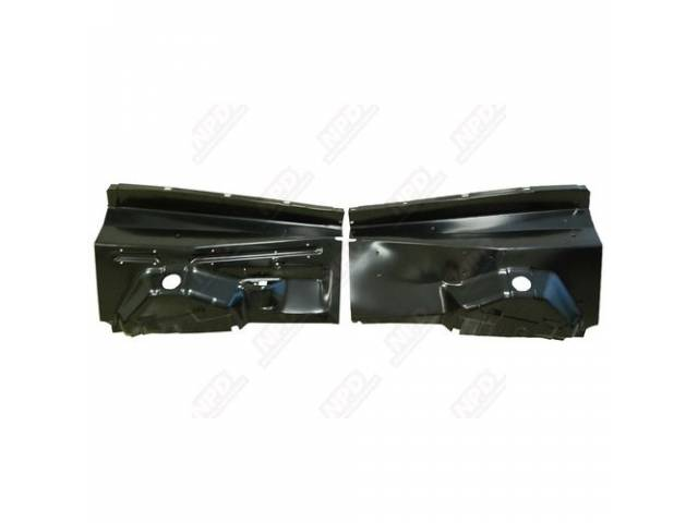 Inner Fender, Front, Oe Style, Pair, Repro, These