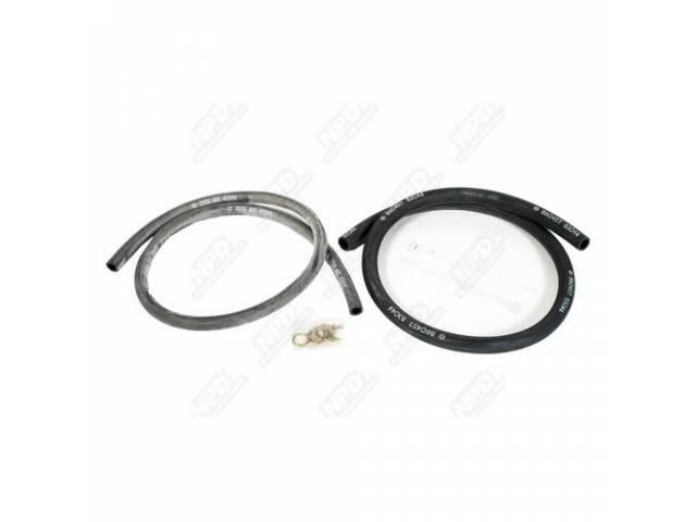 Hose Set Heater Correct Style Incl Ribbed Style