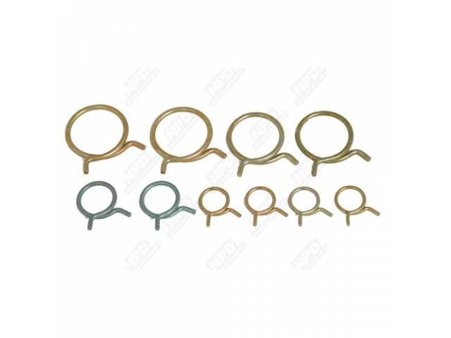 Clamp Set Engine Hose Correct Style And Spring