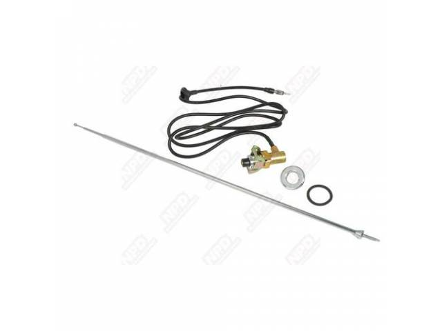 Antenna Kit Mast Body And Cable Gasket Bezel-Nut