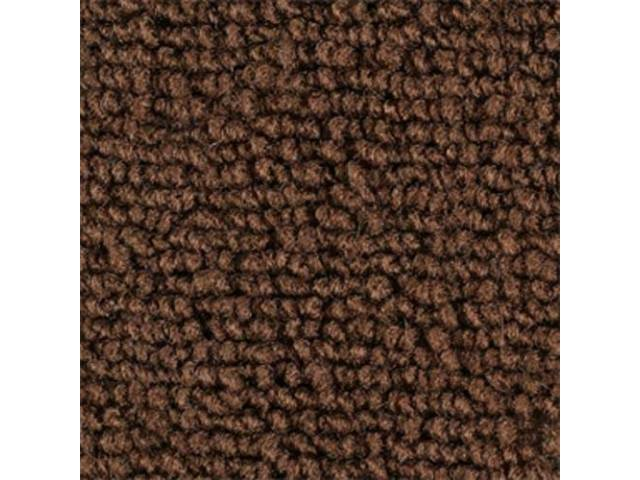 Molded Replacement Carpet Brown Loop