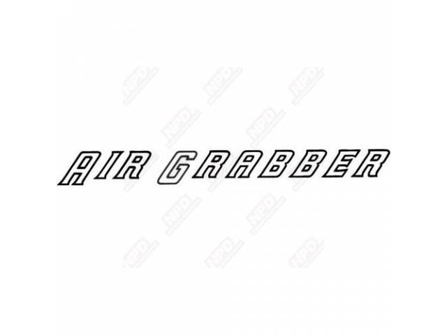 Decal, Air Grabber, Air Box Decal,  Correct