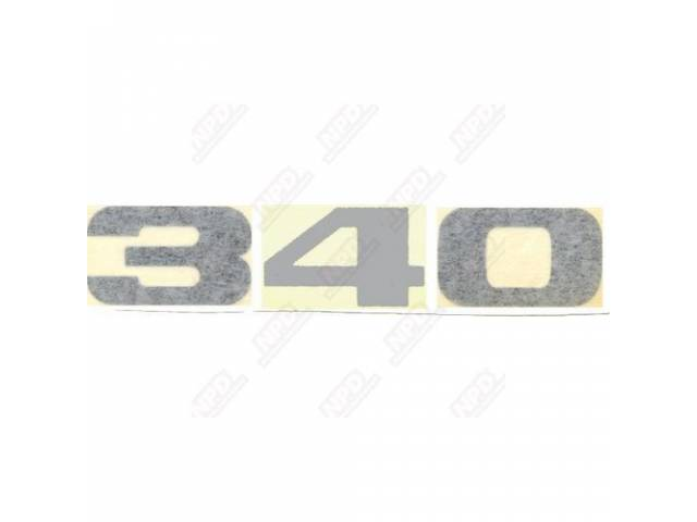 Decal 340 Fender Formula S Correct Material And