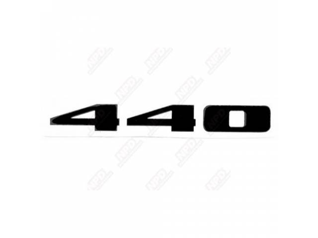 Decal 440 Fender Black Correct Material And Screen